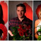 Some of those who appeared on First Dates Ireland. R-L Rachel, Conor and Sinead
