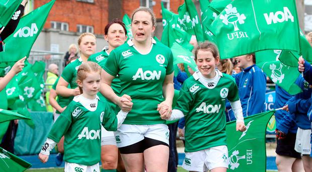 Ireland's women's Six Nations matches will be on TV. Photo: Colm O'Neill/INPHO