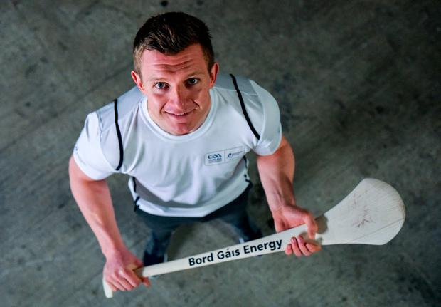 Galway's Joe Canning at yesterday's launch of Bord Gais Energy's sponsorship of the hurling championship. Photo: Sportsfile