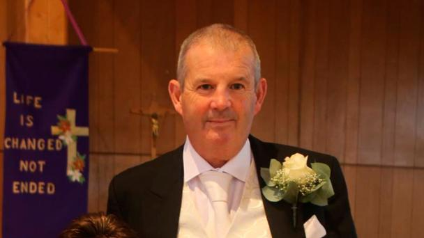 Martin Finn and daughter Abbie were walking on the Newcastle Road, west Dublin, when they were hit