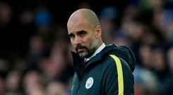 Manchester City manager Pep Guardiola. Photo: Lee Smith/Action Images via Reuters