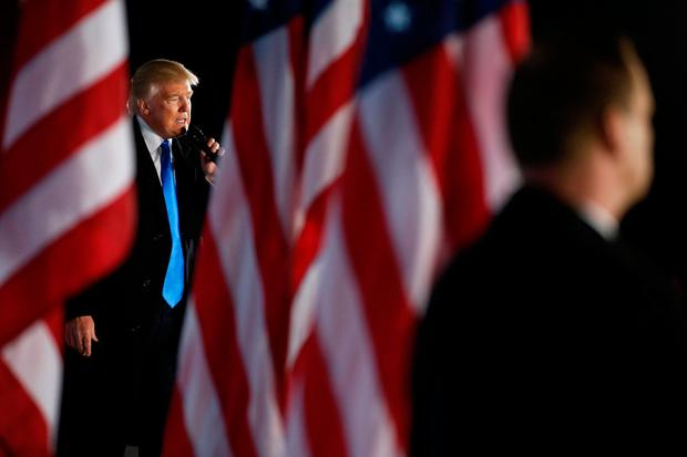 U.S. President-elect Donald Trump delivers remarks at a Make America Great Again welcome concert in Washington, U.S. January 19, 2017. REUTERS/Jonathan Ernst