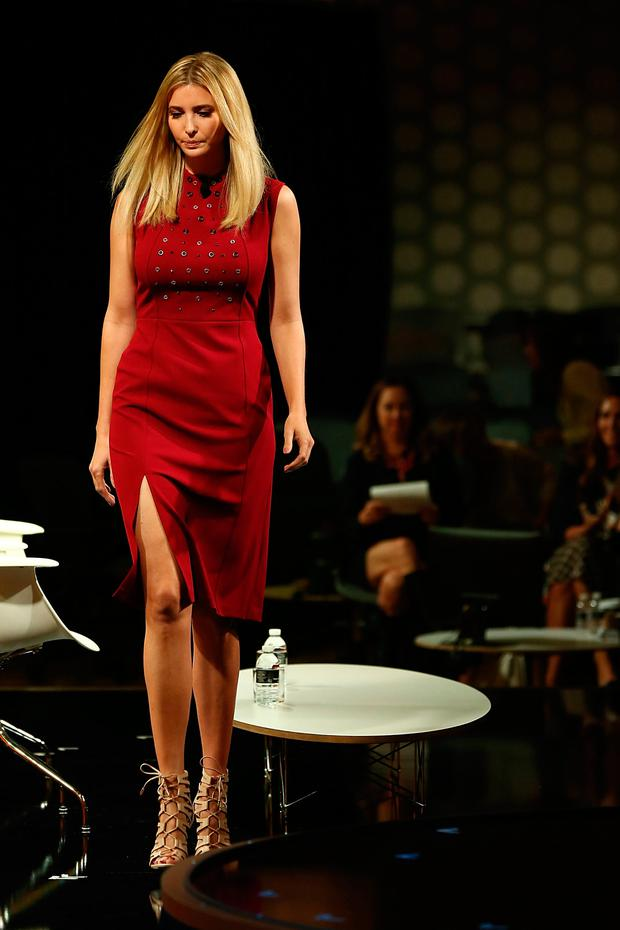 Ivanka Trump speaks onstage at the Fortune Most Powerful Women Summit 2016 at Ritz-Carlton Laguna Niguel on October 19, 2016 in Dana Point, California. (Photo by Joe Scarnici/Getty Images for Fortune)