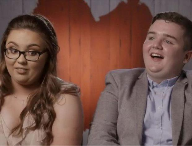 Lauren and Paddy on First Dates Ireland. Image: RTE