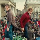 Vive la révolution: Eddie Redmayne and Aaron Tveit in the 2012 film version of Les Misérables