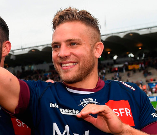 Bordeaux-Bégles' Ian Madigan. Photo: Sportsfile