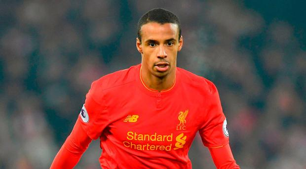 Liverpool's Joel Matip. Photo: Dave Howarth/PA Wire