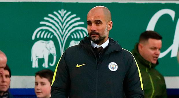 Pep Guardiola doesn't believe that young players are being well-enough prepared for the Premier League. Photo: Peter Byrne/PA Wire