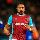 Dimitri Payet. Photo: Mike Egerton/PA Wire