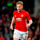 Luke Shaw. Photo: Martin Rickett/PA Wire