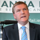 Fianna Fail TD Michael McGrath Photo: Collins