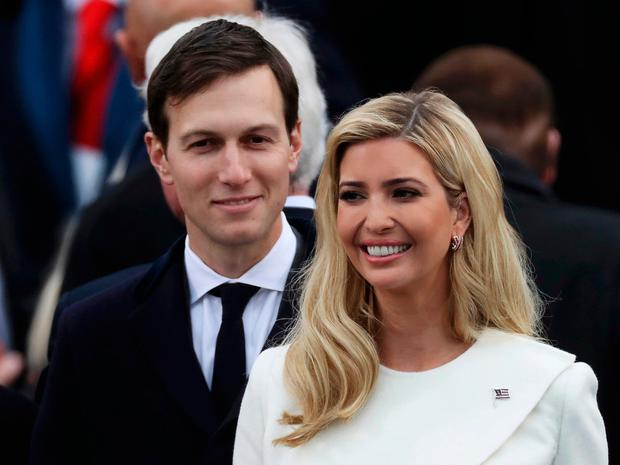 Ivanka Trump and husband Jared Kushner arrive at inauguration ceremonies swearing in Donald Trump as the 45th president of the United States on the West front of the U.S. Capitol in Washington, U.S., January 20, 2017. REUTERS/Carlos Barria