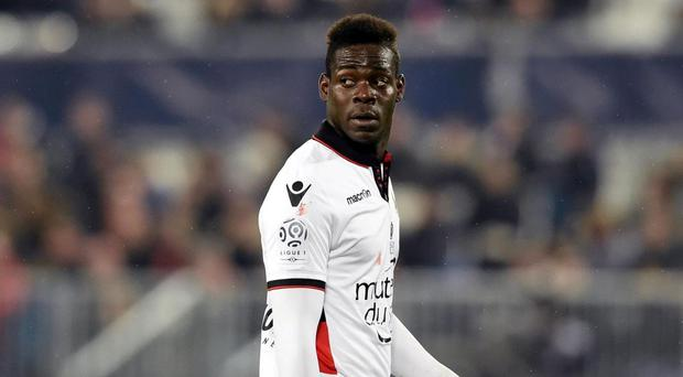 Balotelli has fired Nice to the top of Ligue 1. Getty