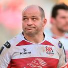 A disappointed Rory Best of Ulster after the European Rugby Champions Cup Pool 5 Round 6 match between Ulster and Bordeaux-Begles at Kingspan Stadium in Belfast. Photo by Oliver McVeigh/Sportsfile