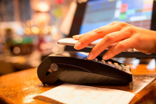 Contactless payments are on the rise in Ireland (Stock picture)