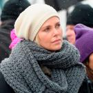 Charlize Theron attends the Women's March on Main Street Park City on January 21, 2017 in Park City, Utah. (Photo by Gustavo Caballero/Getty Images)