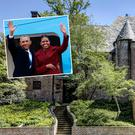 The Obamas' new home in Washington DC. Picture: MRIS