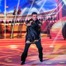 Des Cahill & Karen Byrne: Paso Doble to 'Malagueña' by Ernesto Lecuona, pictured during the Third live show of RTE's Dancing with the stars. kobpix