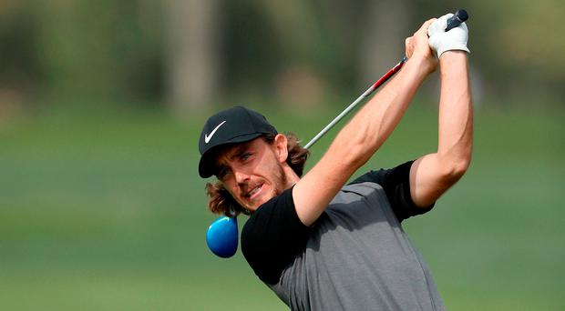 Fleetwood hit a wonderful approach to seven feet on the 16th to move ahead for the first time and then, on the par-five 18th, capitalised on a good break. Photo by David Cannon/Getty Images