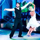 Hughie Maughan & Emily Barker: Waltz to 'What the World Needs Now is Love' by Will Young, pictured during the Third live show of RTE's Dancing with the stars. kobpix
