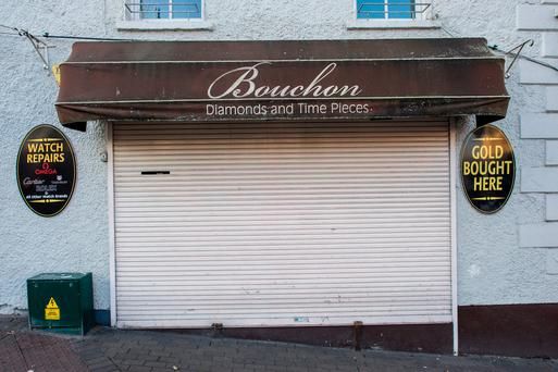 Gardaí are investigating the two raids which occurred at Bouchon jewellers in the Diamond, Malahide Village.