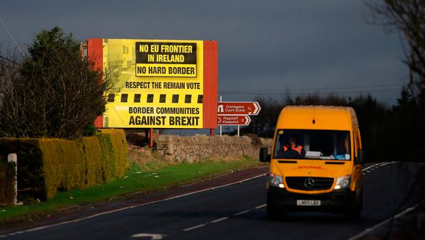 Taoiseach Enda Kenny has said he does not see a return of a hard border. Photo: Niall Carson/PA Wire
