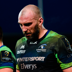 John Muldoon of Connacht Photo by Stephen McCarthy/Sportsfile