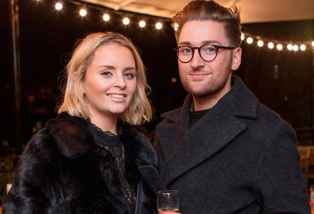 Rob Kenny and Megan McDermott at the relaunch of Milano, Haddington Road. Picture: Anthony Woods