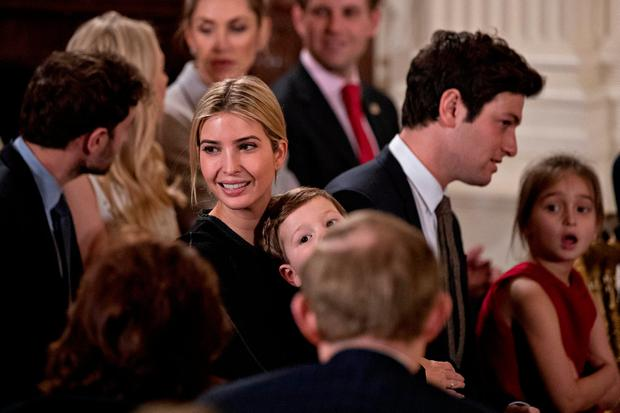 Ivanka Trump goes for understated glamour at White House