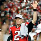 Quarterback Matt Ryan threw for four touchdowns and rushed for another as the Falcons blew the Packers away to book their place in Houston in a fortnight. Photo Credit: Brett Davis-USA TODAY Sports