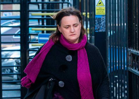 Kathleen Chada took the case against husband Sanjeev over the murders of Eoghan and Ruairí. Photo: Collins Courts