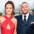 Dee Devlin and Conor McGregor. Photo: Brian McEvoy