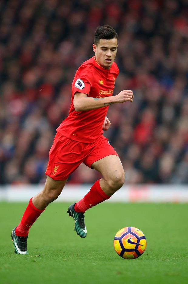 Philippe Coutinho of Liverpool. Photo: Julian Finney/Getty Images