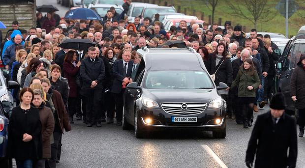 Emma O'Keeffe's funeral was held last Monday. Photo: Frank Mc Grath