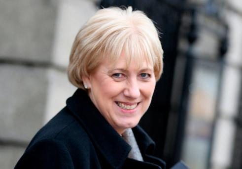 Minister Heather Humphreys, who insisted that rural Ireland did not need to be saved or rescued – it requires empowerment to meet the challenges it faces. Photo: Tom Burke