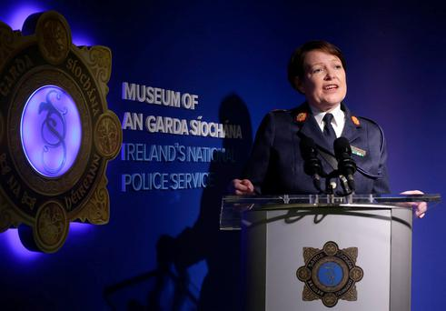Commissioner Nóirín O'Sullivan: 'A beacon of 21st century policing'. Photo: Damien Eagers