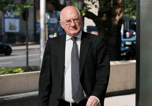 Former Anglo Irish Bank executive Willie McAteer. Photo: Collins Courts