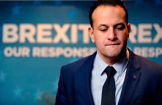 Leo Varadkar said the timing is not right for a speech. Photo: Gerry Mooney