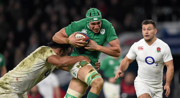 Ireland and England could be doing battle for the Grand Slam on March 18