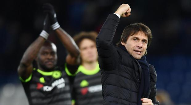 Chelsea are eight points clear with 16 games remaining, but the trophy engravers can start their work now. Getty