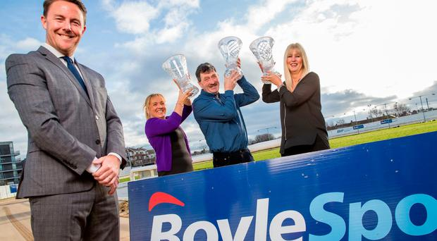 Yesterday it was announced that Ireland's largest independently-owned bookmaking firm is to extend the Derby sponsorship by a further three years. Photo: Conor Healy Photography