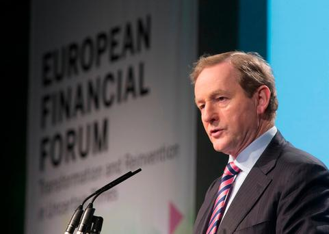 An Taoiseach Enda Kenny. Photo: Colin O'Riordan