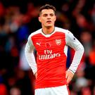 Arsenal's Granit Xhaka. Photo: Adam Davy/PA Wire