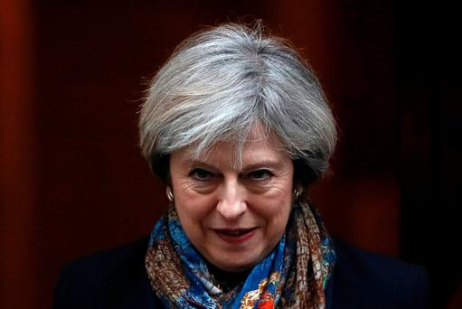 British Prime Minister Theresa May. Photo: REUTERS/Stefan Wermuth