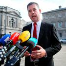 Pearse Doherty said there was 'no appetite' in the party to end its policy of abstentionism. Photo: Tom Burke