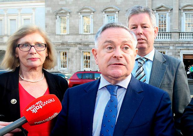 Urging the unthinkable: Labour's Brendan Howlin. Photo: Tom Burke