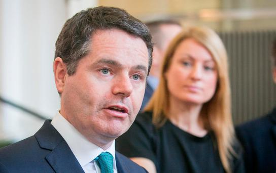 The payments were approved by ministers after Public Expenditure Minister Paschal Donohoe brought the order on the additional salaried allowances to Cabinet. Photo: Gareth Chaney Collins