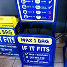 Ryanair has operated a strict baggage policy in the past