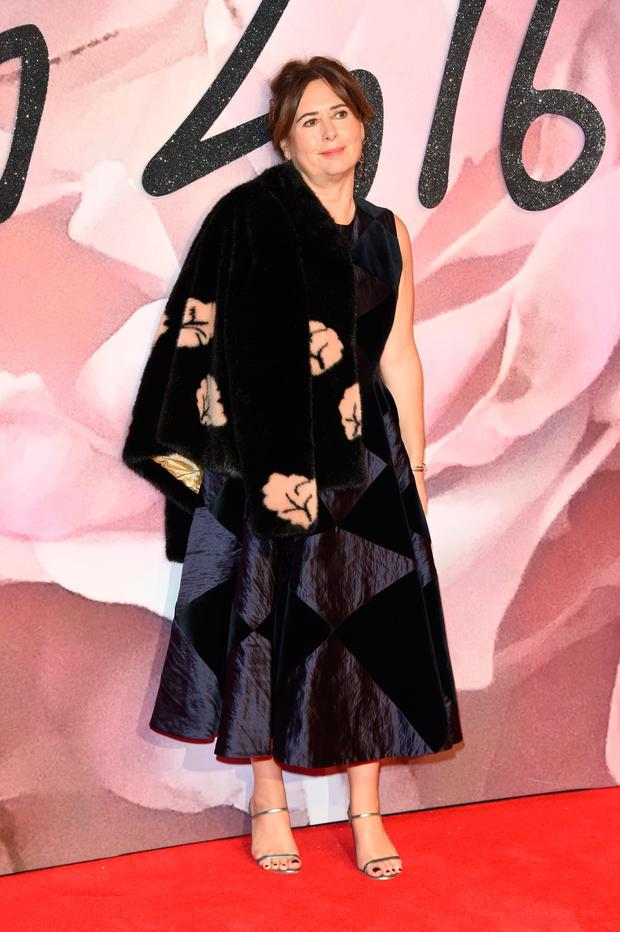Editor-in-chief of British Vogue Alexandra Shulman attends The Fashion Awards 2016 on December 5, 2016 in London, United Kingdom. (Photo by Stuart C. Wilson/Getty Images)