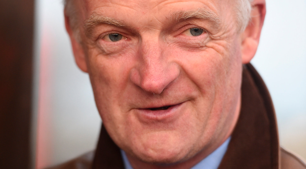 """Mullins: """"Normally when a horse gets an injury like that we give them a week or 10 days and then reassess and I think that's what we'll do."""
